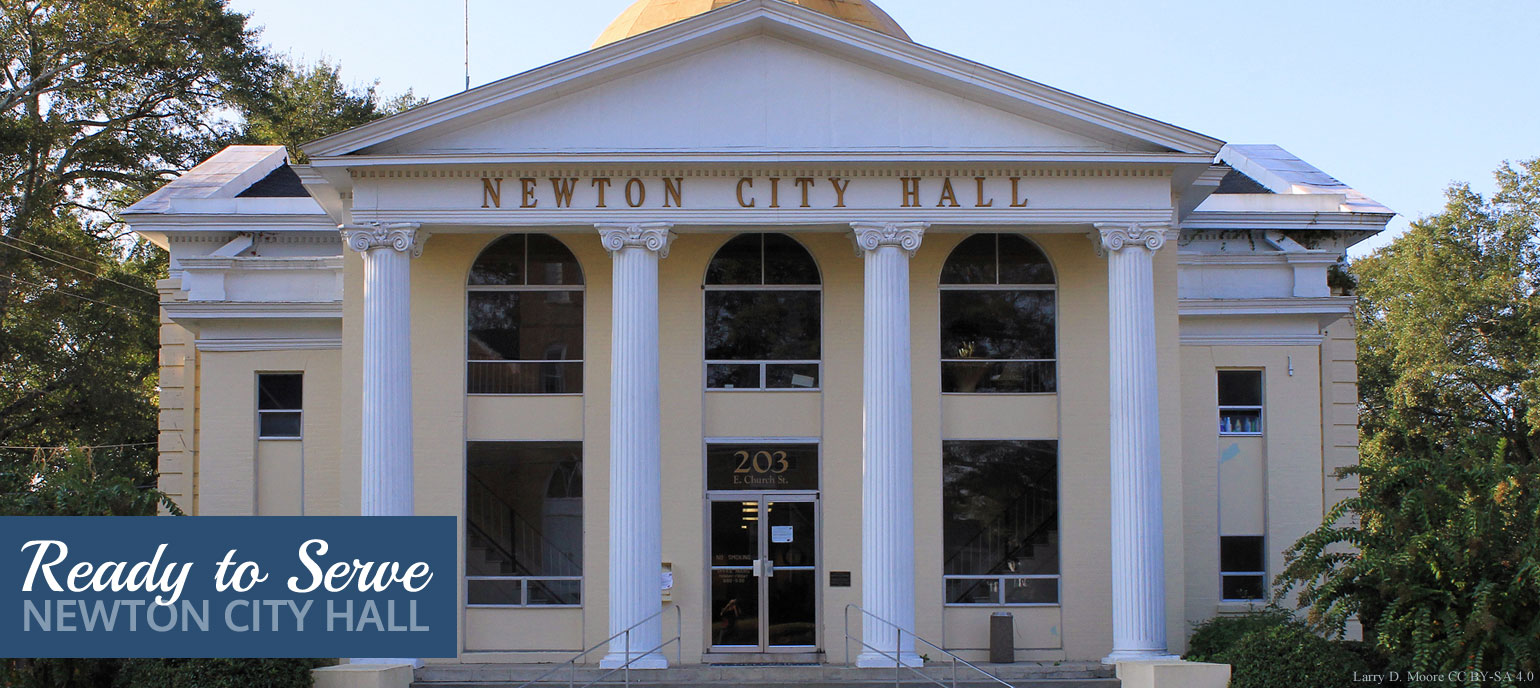 City of Newton, Mississippi Interstate Map Newton Ms on